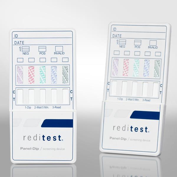 Reditest Panel Dip Test Devices Redwood Toxicology Laboratory